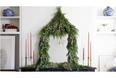 Easy Decorating with Fresh Greenery