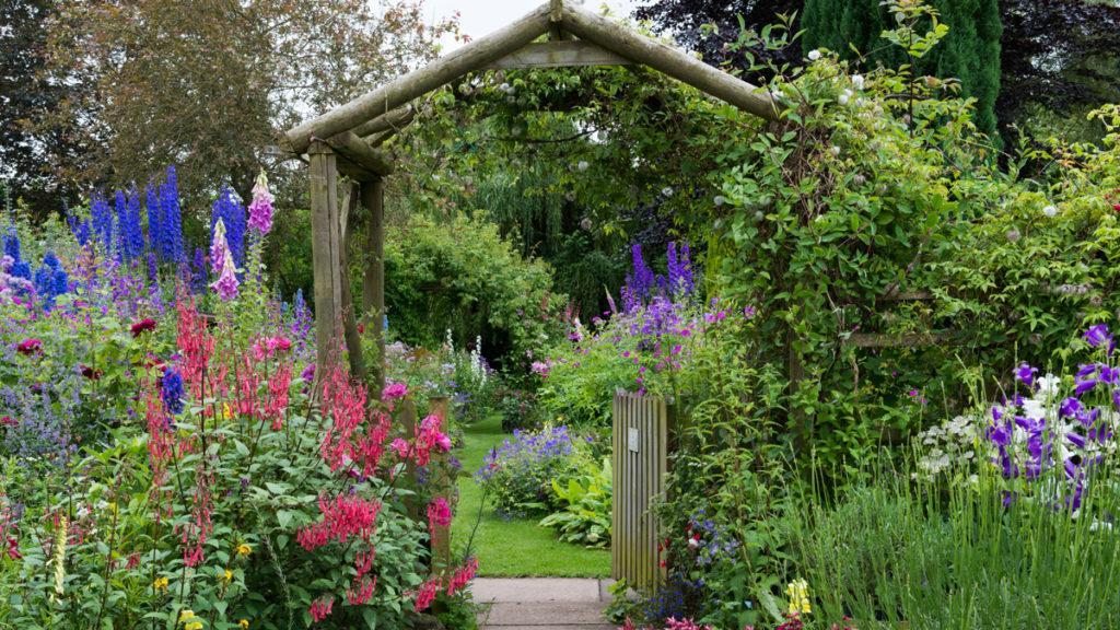 English Cottage Garden Zone 3, How To Plan A Cottage Garden Border